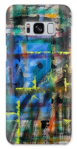 Blue Wall Galaxy Case