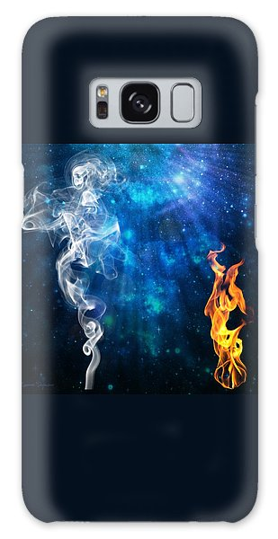 Universal Energies At War Galaxy Case by Leanne Seymour