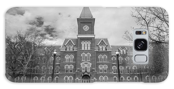 University Hall Black And White Galaxy Case