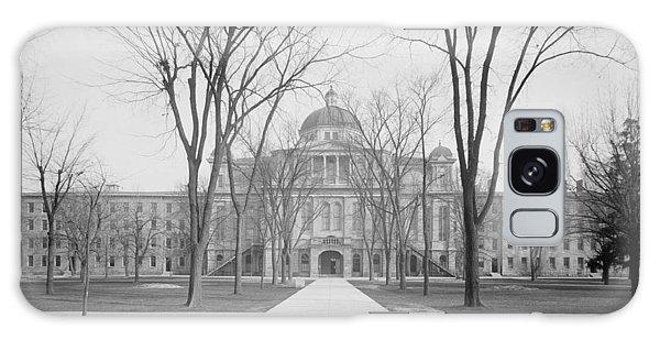 University Hall, University Of Michigan, C.1905 Bw Photo Galaxy Case by Detroit Publishing Co.