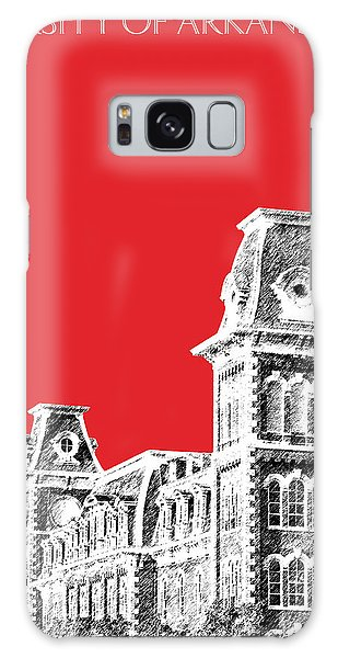 University Of Arkansas - Red Galaxy Case by DB Artist