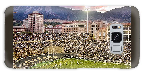 University Of Colorado Boulder Go Buffs Galaxy Case