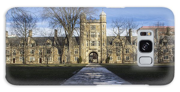 University Of Michigan Campus Galaxy Case by John McGraw
