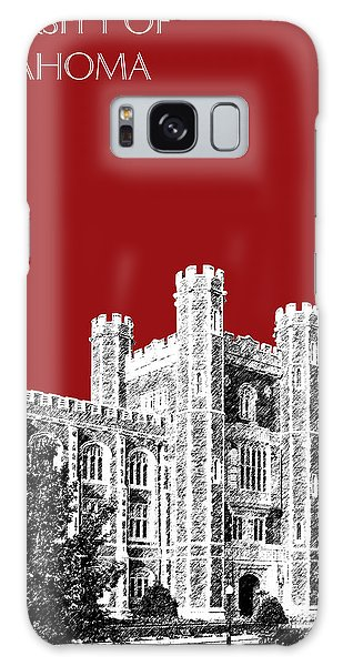 University Of Oklahoma - Dark Red Galaxy Case