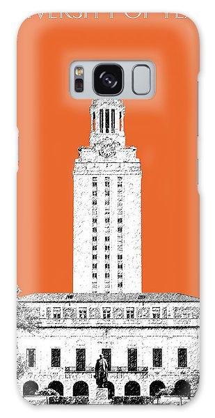 Celebration Galaxy Case - University Of Texas - Coral by DB Artist
