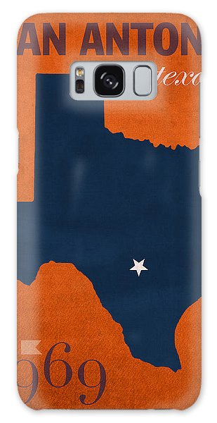 University Of Texas At San Antonio Roadrunners College Town State Map Poster Series No 111 Galaxy S8 Case