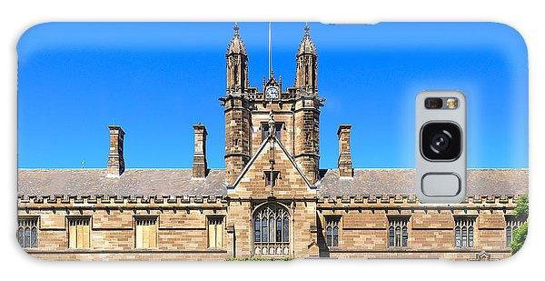 University Quadrangle With Gothic Revival Architecture Galaxy Case