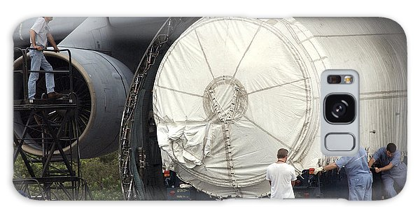 Unloading A Titan Ivb Rocket Galaxy Case by Science Source