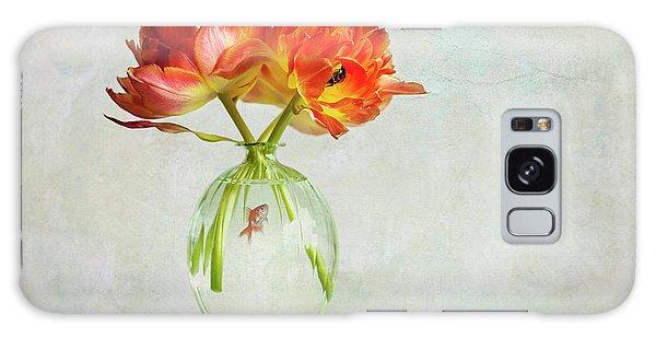 Tulips Galaxy Case - Untitled by Alida Van Zaane