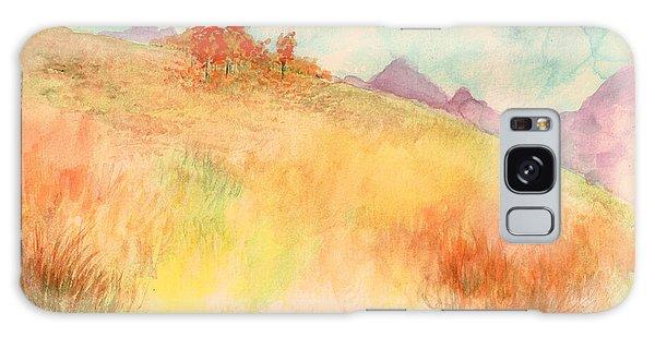 Untitled Autumn Piece Galaxy Case
