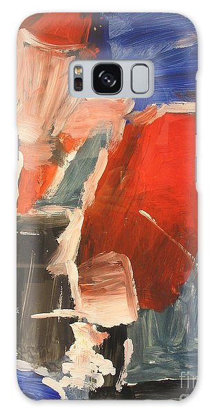 Untitled Composition I Galaxy Case by Fereshteh Stoecklein