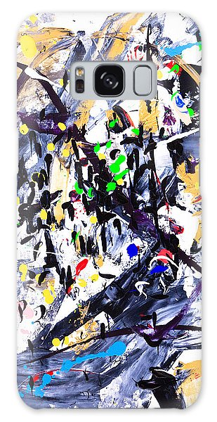 Untitled Number Fifteen  Galaxy Case