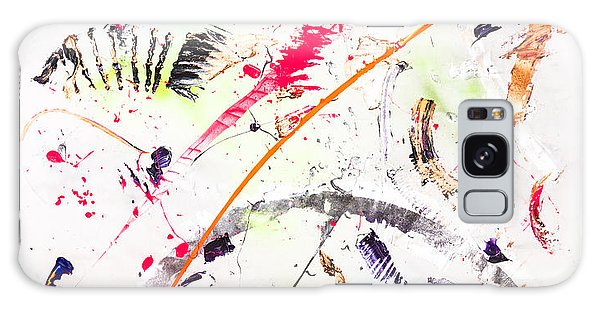 Galaxy Case featuring the painting Untitled Number Seven  by Maria Lankina