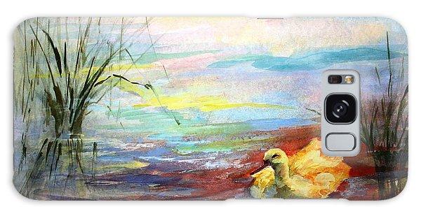 Gosling Galaxy Case - Untitled Watercolor       by Mary Spyridon Thompson