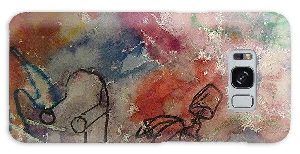 Untitled Watercolor 1998 Galaxy Case