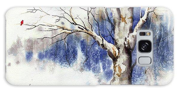 Untitled Winter Tree Galaxy Case