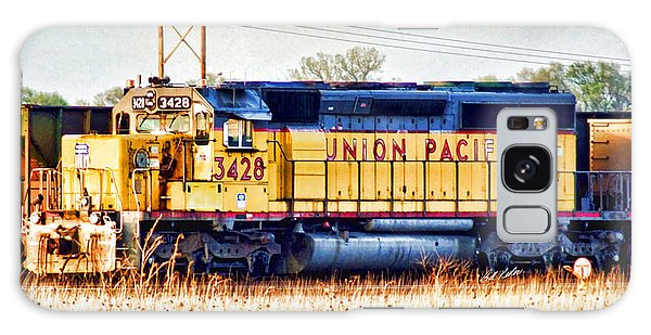 Up 3428 Rcl Locomotive In Color Galaxy Case by Bill Kesler