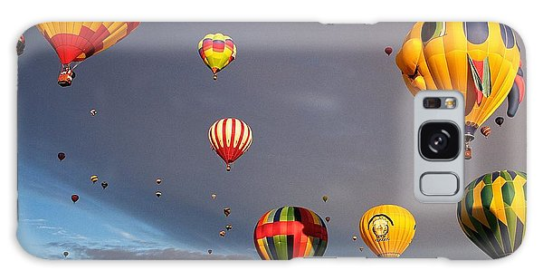 Up And Away Galaxy Case by Dave Files