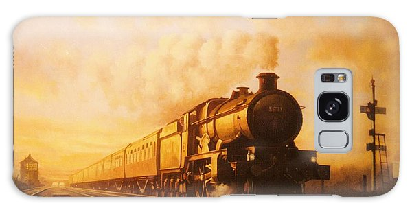 Up Express To Paddington Galaxy Case by Mike  Jeffries