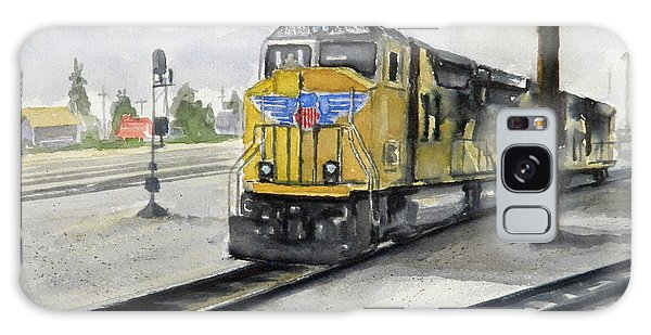 U.p. Locomotive Galaxy Case by William Reed