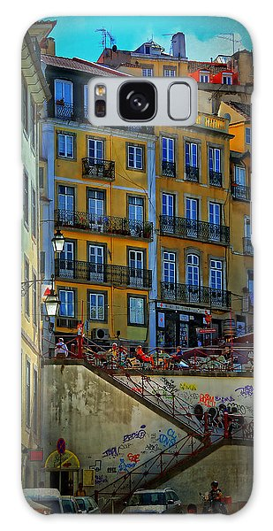 Up The Stairs - Lisbon Galaxy Case