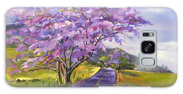Upcountry In Bloom Galaxy Case by Jennifer Beaudet