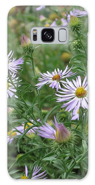Uplifted Asters Galaxy Case