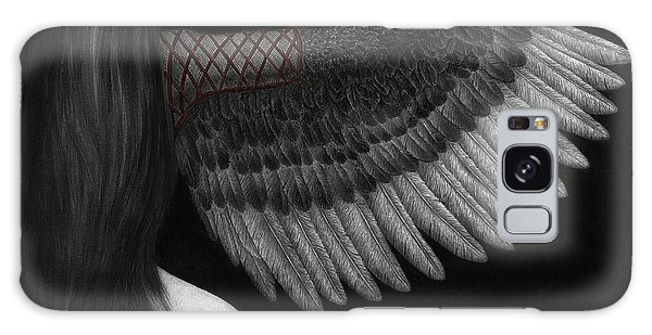 Upon Ashen Wings Galaxy Case by Pat Erickson