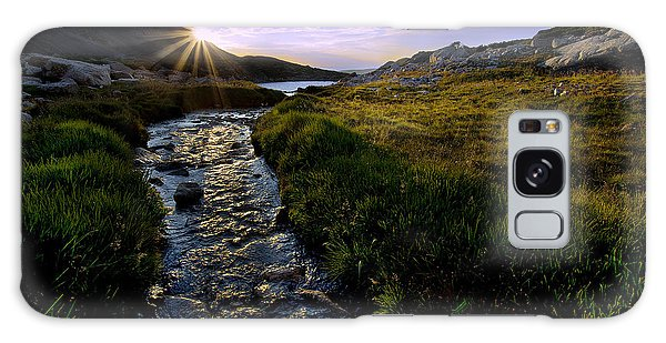 Indian Peaks Wilderness Galaxy Case - Upper Blue Sunrise by Steven Reed