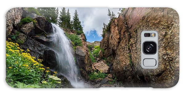 Upper Booth Falls Galaxy Case by Michael J Bauer