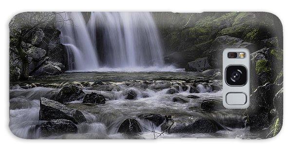 Upper Crystal Creek Falls  Galaxy Case