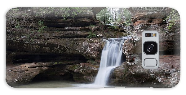 Upper Falls At Old Mans Cave II Galaxy Case