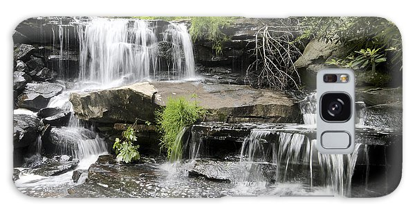 Upper Goose Creek Falls Galaxy Case