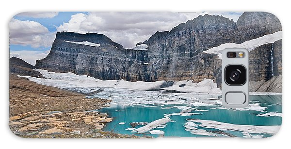 Upper Grinnell Lake And Glacier Galaxy Case