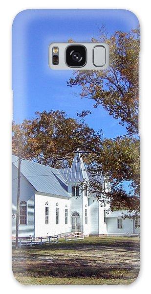 Upper Neck Church Galaxy Case by David Nichols