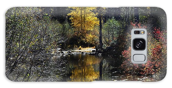 Upper Truckee River Autumn Galaxy Case