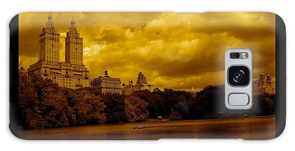 Upper West Side And Central Park Galaxy Case