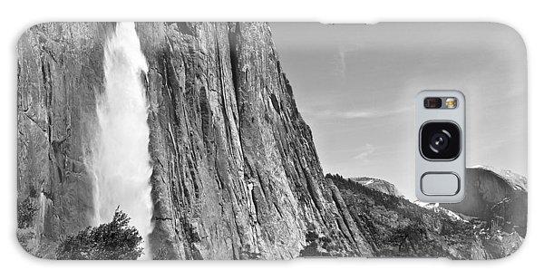 Upper Yosemite Fall With Half Dome Galaxy Case by Shane Kelly