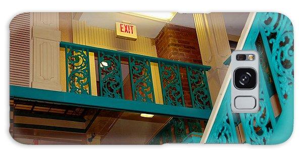 Upstairs Exit Galaxy Case by Bob Pardue