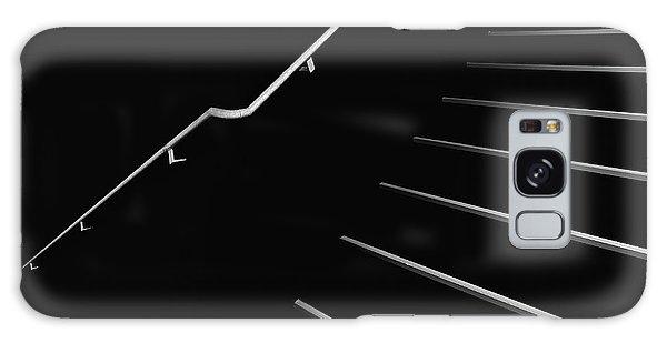 Handrail Galaxy Case - Upstairs by Rolf Endermann