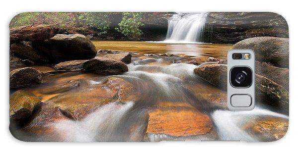 South Carolina Blue Ridge Mountains Waterfall Nature Photography  Galaxy Case