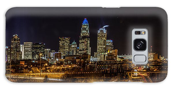 Uptown Charlotte Panorama Galaxy Case
