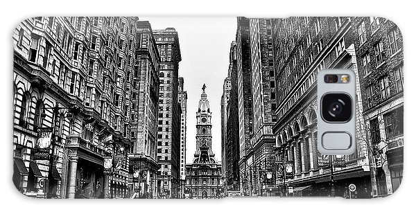 Urban Canyon - Philadelphia City Hall Galaxy Case by Bill Cannon