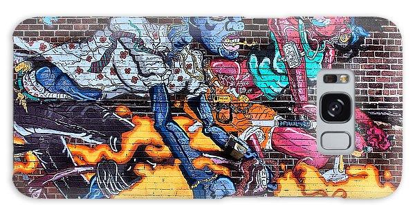 Urban Graffitti Galaxy Case