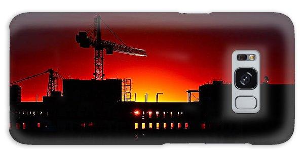Urban Sunrise Galaxy Case by Linda Bianic