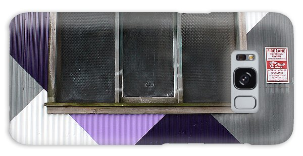 Urban Window- Photography Galaxy Case by Linda Woods