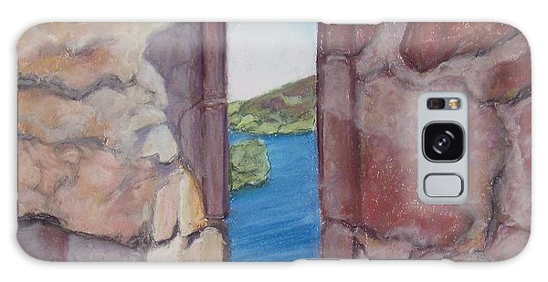 Archers' Window Urquhart Ruins Loch Ness Galaxy Case