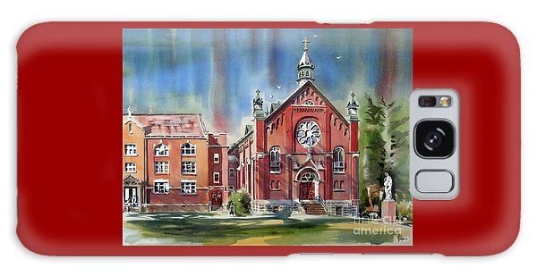 Ursuline Academy With Doves Galaxy Case