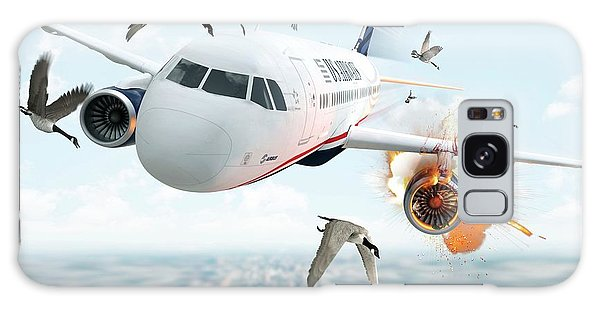 Canada Goose Galaxy Case - Us Airways Flight 1549 Incident by Claus Lunau/science Photo Library