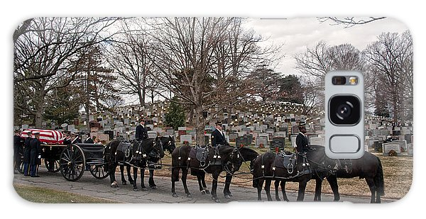 Us Army Caisson At Arlington National Cemetery Galaxy Case